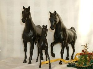 Retired Breyer Family Arabian Congress Set