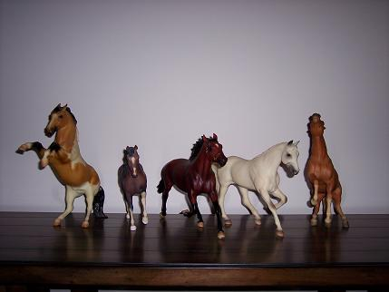 Chaparral and Breyer friends