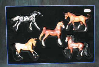 JAH Miniature Connoisseur Breyer Horse Collection