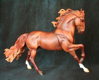 Breyer Tour Calliente Horse