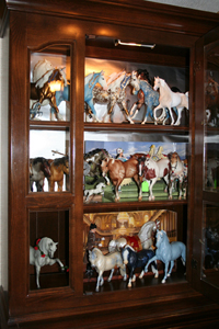 Celia Tamker's Breyer Horse collection