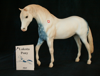 Lakota Pony Breyer