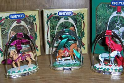 Breyer Christmas Ornaments