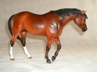 Customized Breyer Indian Pony Model