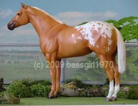 Etched Lady Phase Custom Breyer Horse