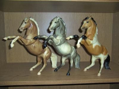 Breyer Fighting Stallions / Chaparral