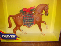 Holiday Hunt - Breyer Christmas Horse