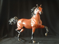 Breyer Huckleberry Bey Model