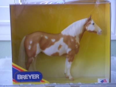 Breyer Model, Mego - Signed by P. Stone (Have 2)