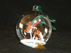 Hats Off to the Holiday Breyer Christmas Ornament