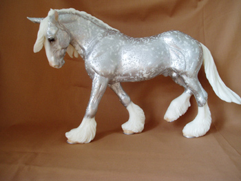Breyer Limted Edition Silver Snow