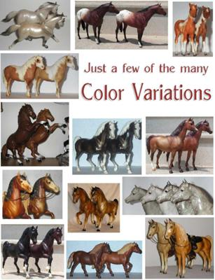 A tiny number of color variations