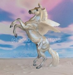 Breyer Treasure Hunt Pegasus 2007