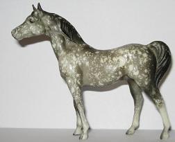 Stablemate Dapple Grey Arabian Stallion