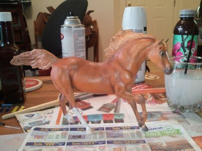 My first Custom Breyer Model