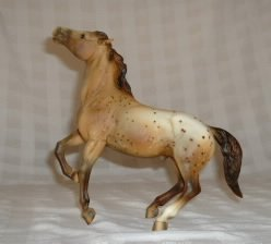 A popular Breyer Mustang Appaloosa Horse Model
