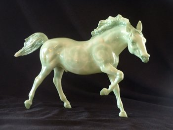 QVC: Jade 2002 Breyer Running Stallion