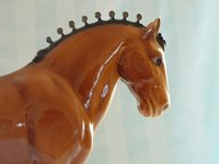 Vintage Glossy Clydesdale Breyer Horse